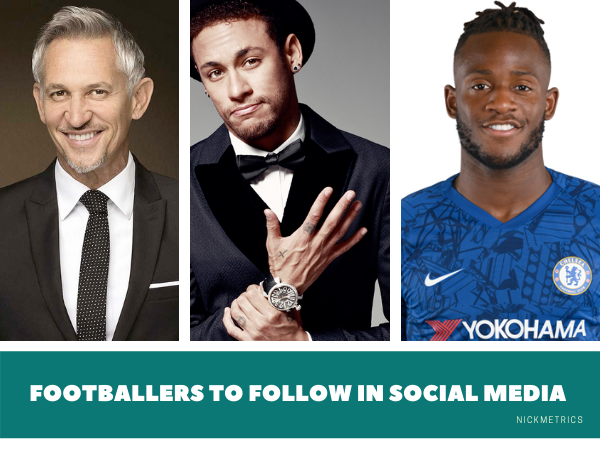 Footballers To Follow In Social Media Blog Featured Image