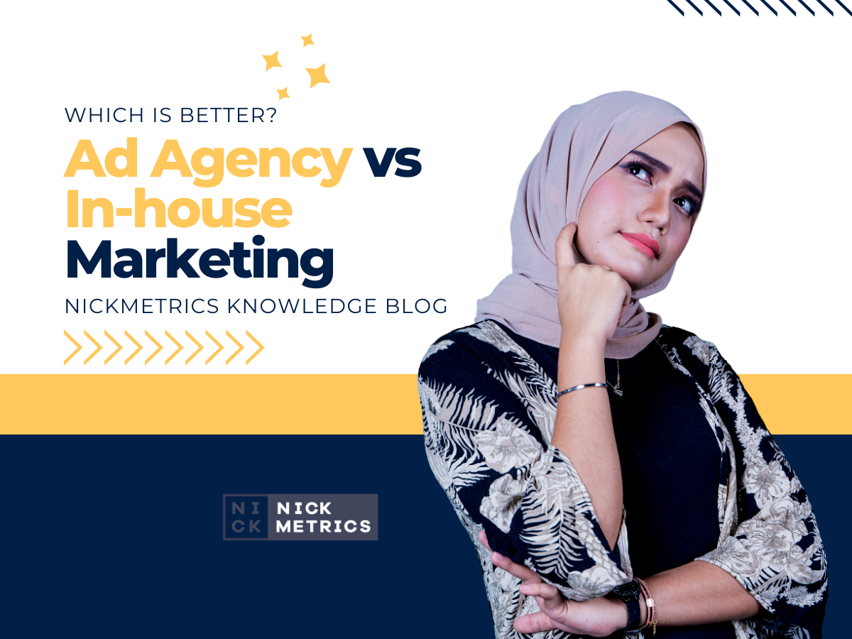 Ad Agency vs In-house Marketing Blog Featured Image