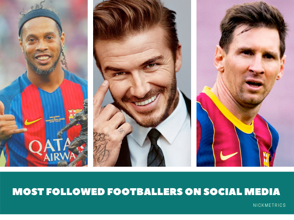 Most Followed Footballers on Social Media Blog Featured Image