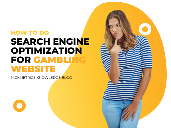 Search Engine Optimization (SEO) For Gambling Website Blog Featured Image