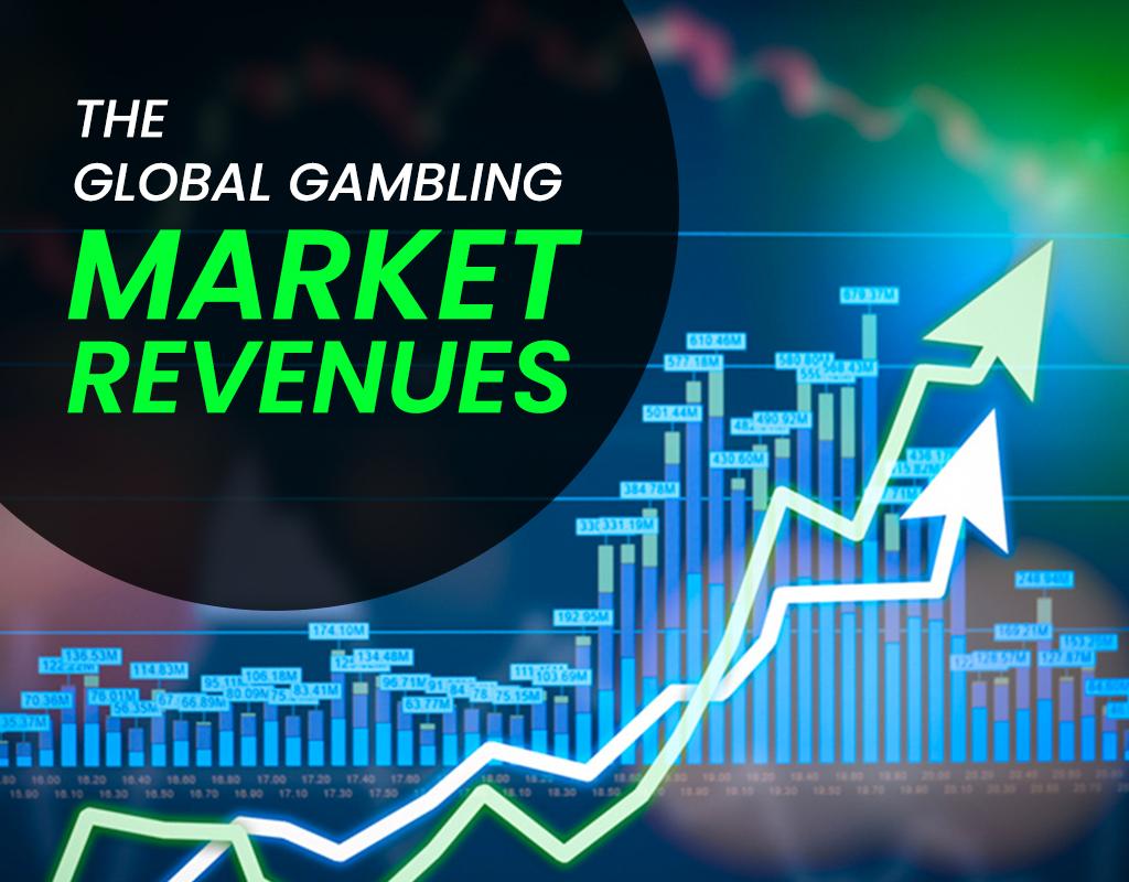 The global gambling market revenues