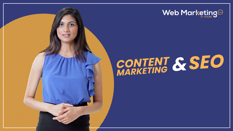 Content Marketing and SEO Blog Featured Image