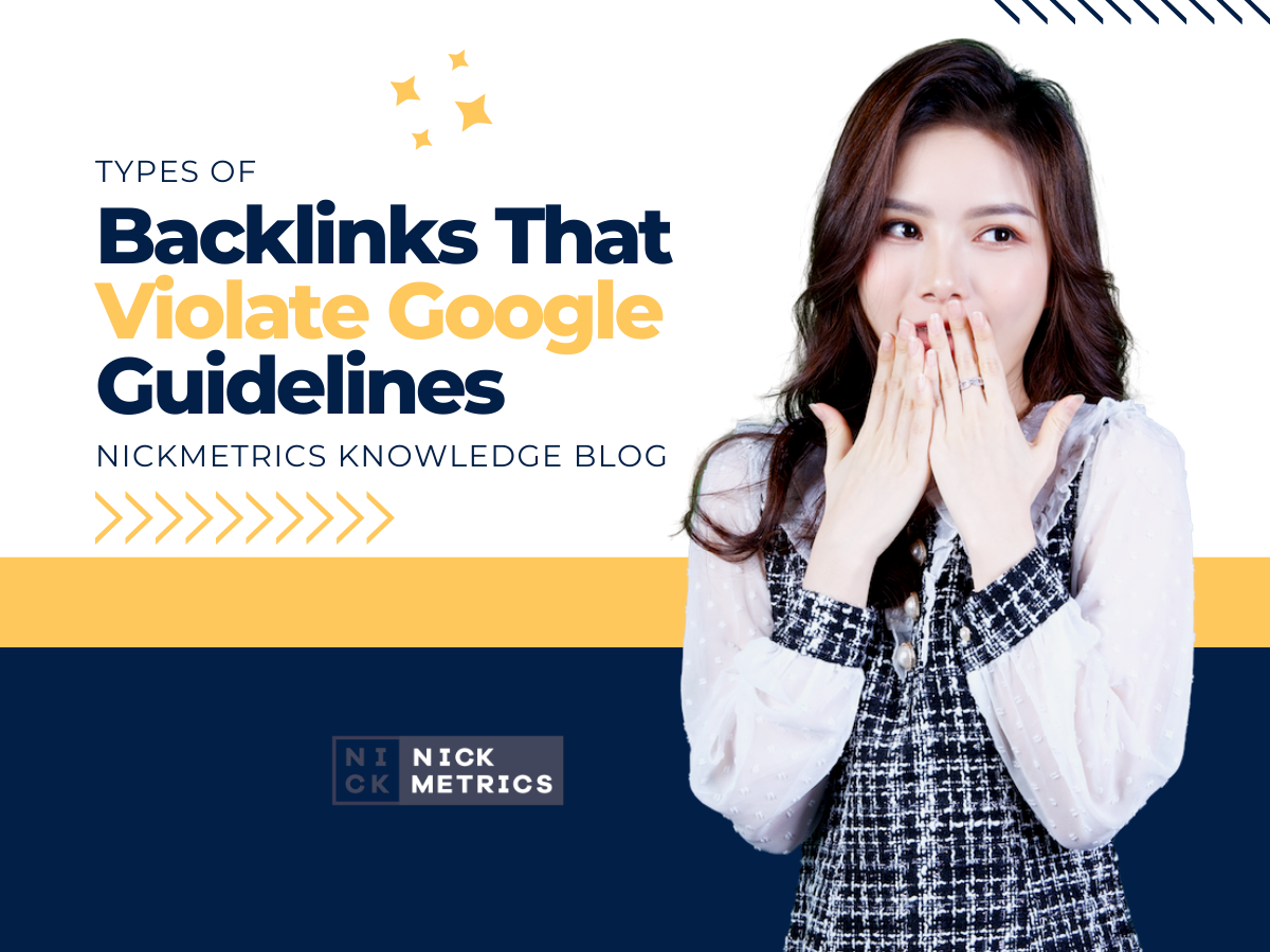 Backlinks That Violate Google Guidelines Blog Featured Image