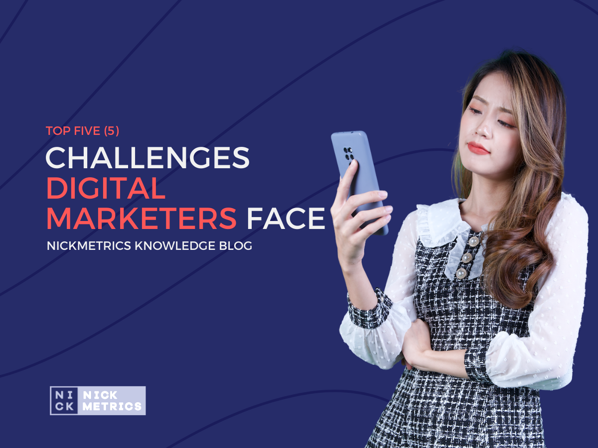 Challenges Digital Marketers Face Blog Featured Image