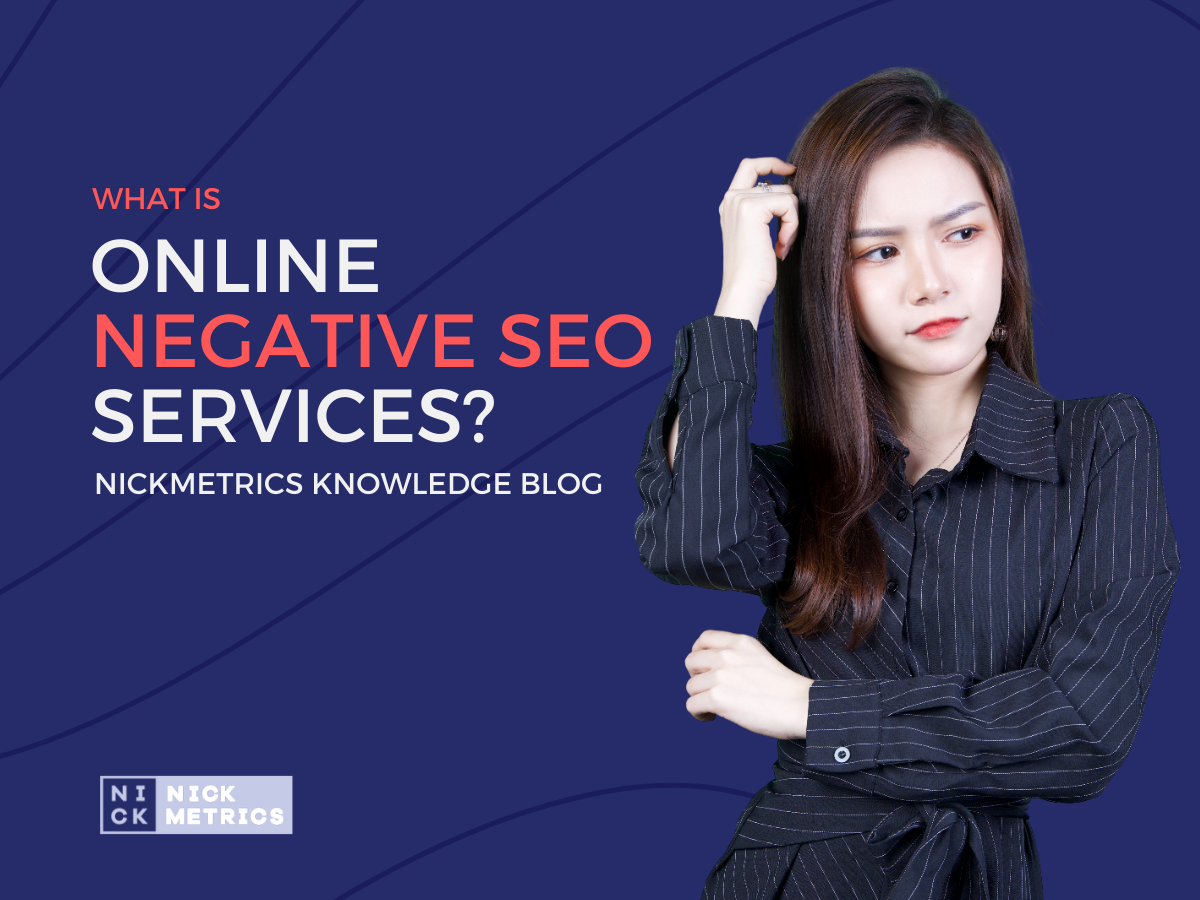 What Is Online Negative SEO Services Blog Featured Image