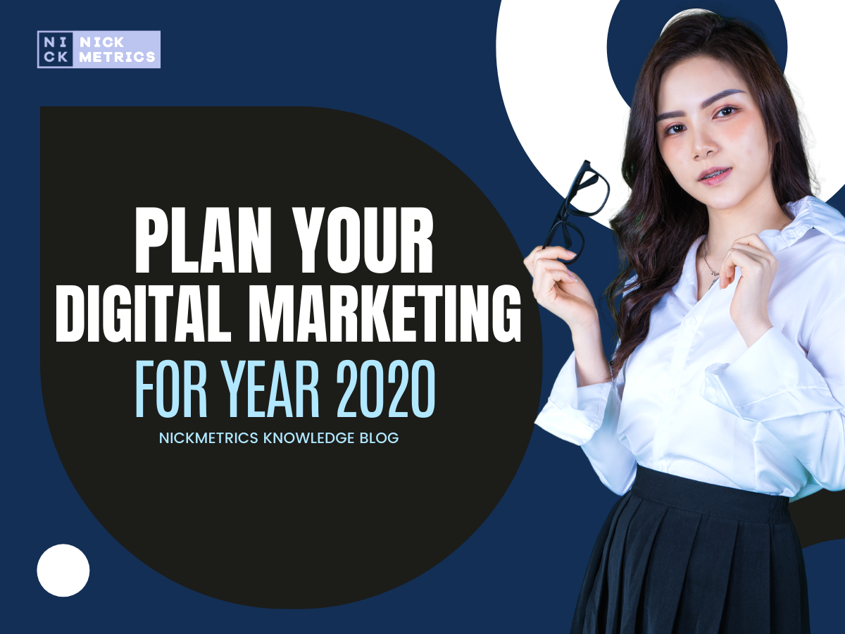 Plan Your Digital Marketing for 2020 Blog Featured Image