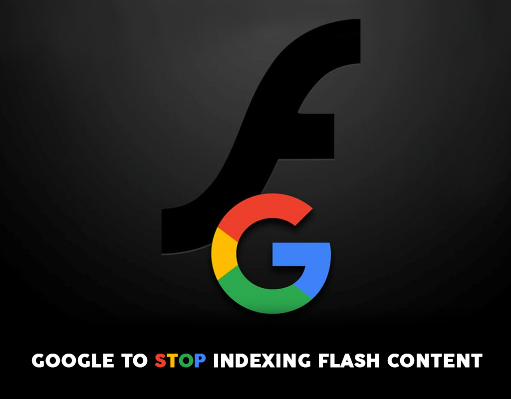 Google to stop indexing Flash Content