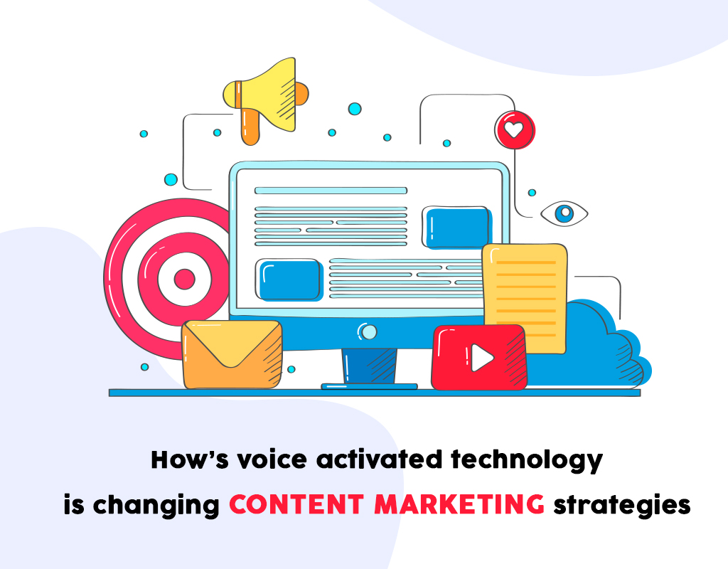 How's voice activated technology is changing content marketing strategies