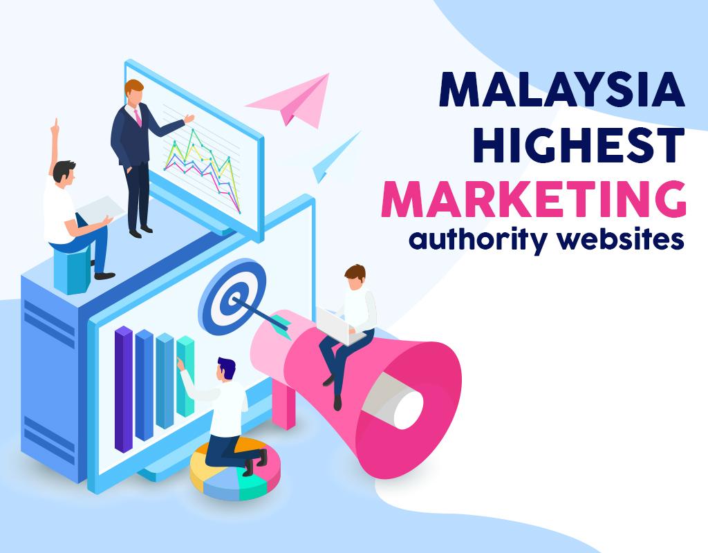 Malaysia highest (marketing) authority websites