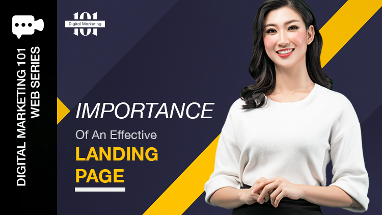 Importance Of An Effective Landing Page Blog Featured Image