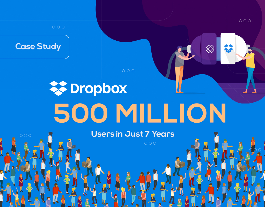 Case Study: Dropbox 500 Million Users in Just 7 Years