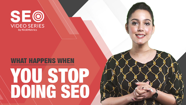 What Happens When You Stop Doing SEO Blog Featured Image