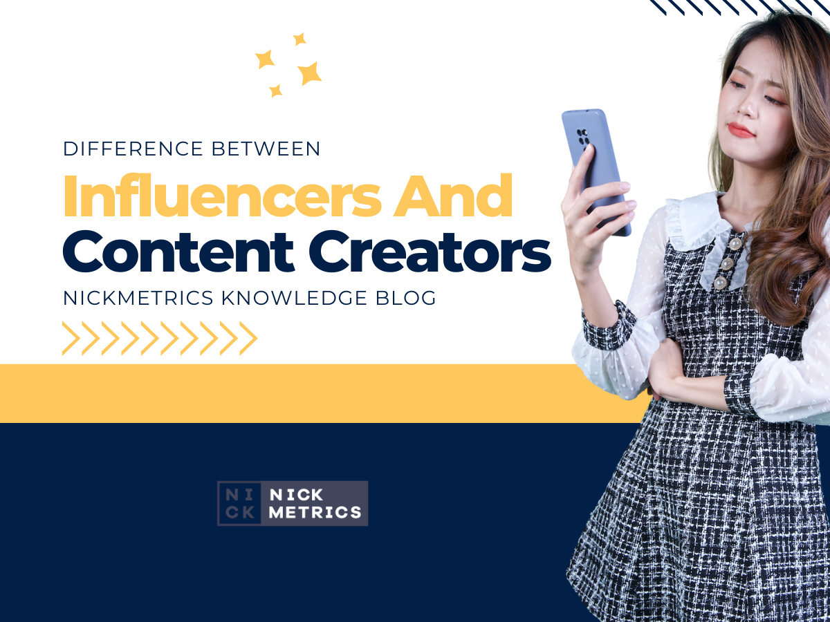 Difference Between Influencers And Content Creators Blog Featured Image