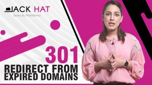 301 Redirect From Expired Domain With Strong Backlink Profile Blog Featured Image